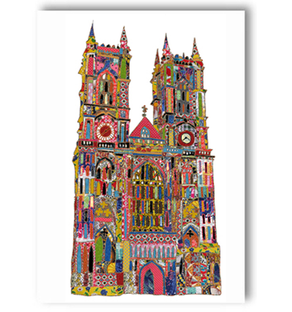 Westminster Abbey (Front) Card