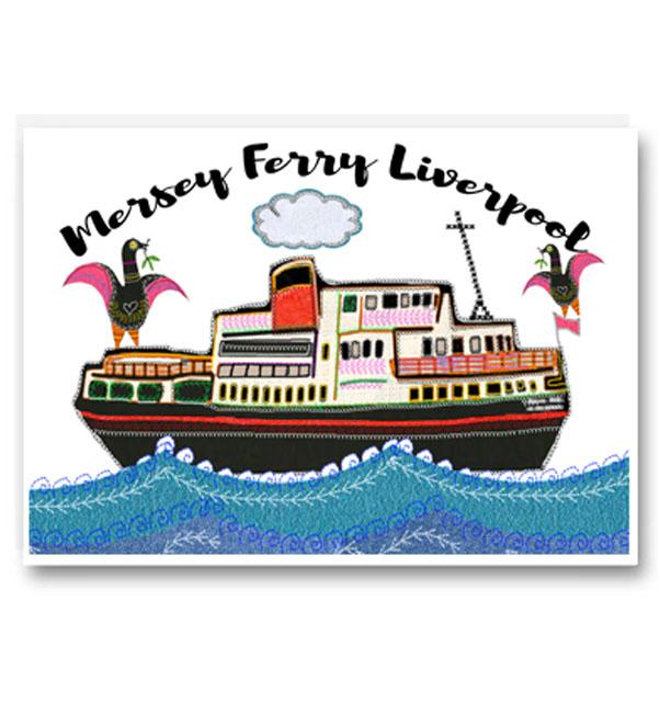 Mersey Ferry Liverpool Card